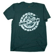 Image of Space Police Pinup tshirt - Slate