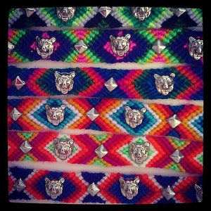 Image of Lions and Lions Friendship Bracelet