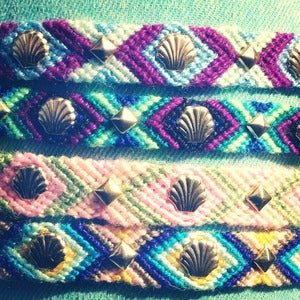 Image of Seashell Friendship Bracelet