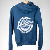 Image of Join the Space police - Hoodie - Indigo