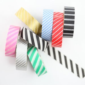 Image of Striped Washi Tapes