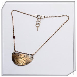 Image of Drop Blade Necklace