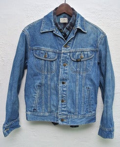 Image of Vintage Lee denim jacket (S) #2