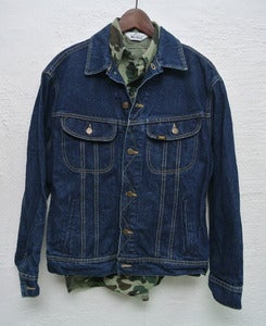Image of Vintage Lee denim jacket (L) #4