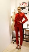 Image of RED TUXEDO JACKET