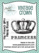 Image of Vintage Crown (2x3) ~ Peachy