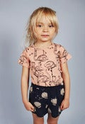 Image of MINI RODINI flamingo s/s tee, pink