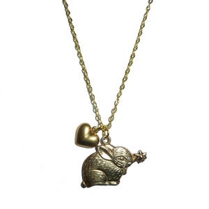 Image of L'il Lapin Necklace *SALE* 50% off 