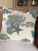 Image of Tropical Fish & Coral Pillow