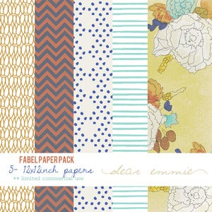 Image of Fabel paper pack