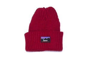 Image of Montserrat beanie in Burgundy