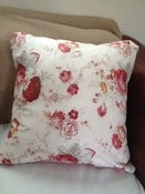 Image of Rustic Shabby Roses Pillow