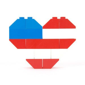 Image of ♥ American Flag H.O.B