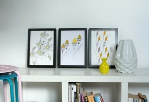 Image of Set of 3 Art prints