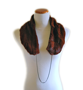 Image of Reclaimed Fur Stole, Mink