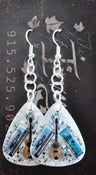 Image of The Iveys Guitar Pick Earrings