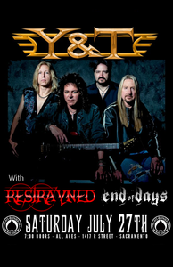 Image of Ticket: Y&T @ Ace of Spades