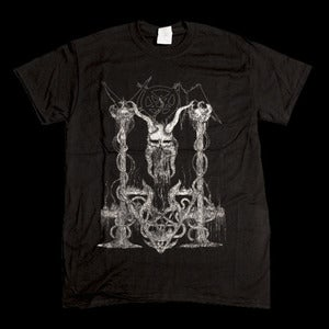 Image of VON-Here Is Where He Kills T-Shirt (Ltd Ed 50)+Free Satanic Blood Full Length Digital Album Download