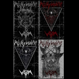 Image of VON-Ritual of The Black Mass LA &amp; NY 2012 11x17 Posters (4PK) (Ltd Ed 15)