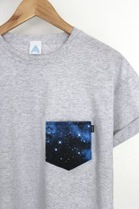 Image of AND Galaxy Pocket Tee
