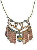 Image of Tibetan Pendant Necklace by Joli Jewelry