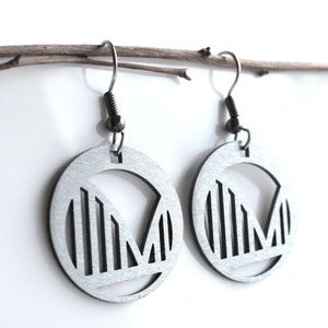 Image of Round Bridge Earrings