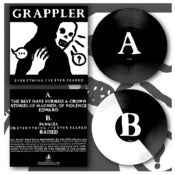 "Image of DK036: Grappler - Everything I've Ever Feared 12"" EP - 180g Black /100, White/Black Split /200"