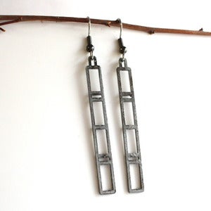 Image of Dangle Woodwork Earring