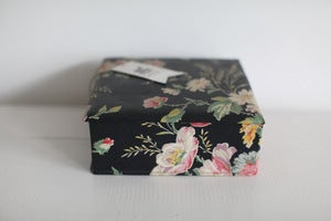 Image of 1940s French fabric box