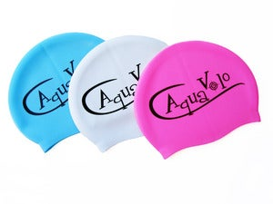 Image of AquaVolo Logo Swim Cap