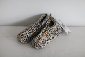 Image of 1980s chunky knitted slippers