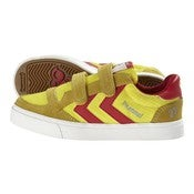 Image of HUMMEL stadil ribstop jr. low, blazing yellow/ribbon red