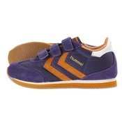 Image of HUMMEL stadion velcro kids low, parachute purple/popsicle