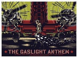 Image of The Gaslight Anthem - US Spring Tour 2013 - Plane