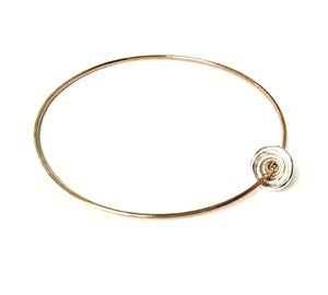 Image of Puka Shell Bangle Bracelet