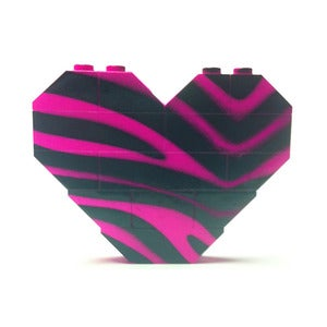 Image of ♥ Limited Edition ~ Hot Pink Zebra Print H.O.B