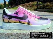 "Image of ""Tropical Paradise"" Womens Air Force One"