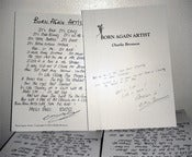 Image of Born Again Artist - Charles Bronson Book