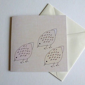 Image of Little Chicks Greeting Card