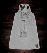 Image of neverTrustASpoon| Tank Dress | Htr Grey