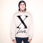 Image of X LOVE Grey Crew Neck