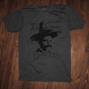 Image of Zapata | Tee| Heather Charcoal