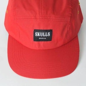 Image of Skulls- Old school- Red