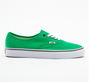 Image of VANS Authentic green