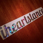 Image of *NEW* iheartstance *RAINBOW* confetti sparkle decal