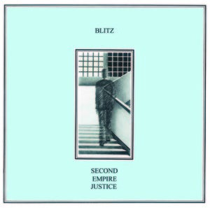 Image of Blitz - Second Empire Justice (dsr029LP) - white vinyl - 300 copies - first pressing