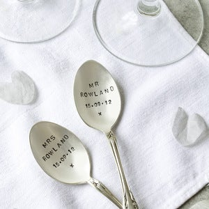 Image of Personalised Coffee Spoon Set