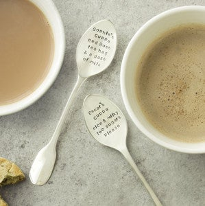 Image of Personalised Cuppa Teaspoon Set