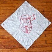 Image of Flour Sack Shop Rag - Red