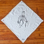 Image of Flour Sack Shop Rag - Black
